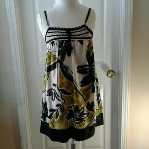 BCBGMAXAZRIA dress, Sz small, silk